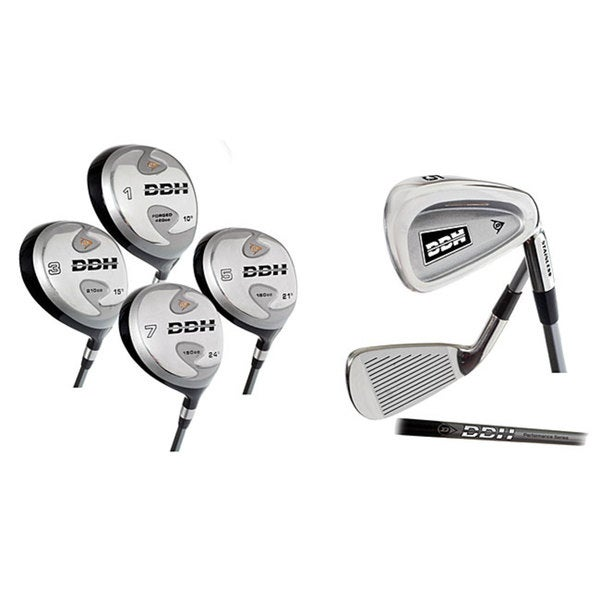 d588f3a3f7 Shop Dunlop DDH Senior Complete 13-piece Golf Set - Free Shipping Today -  Overstock - 2897183