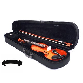 Orchestra Approved Student Violin W/ Case and Shoulder Rest (7 Sizes) (Option: Size 1/16)
