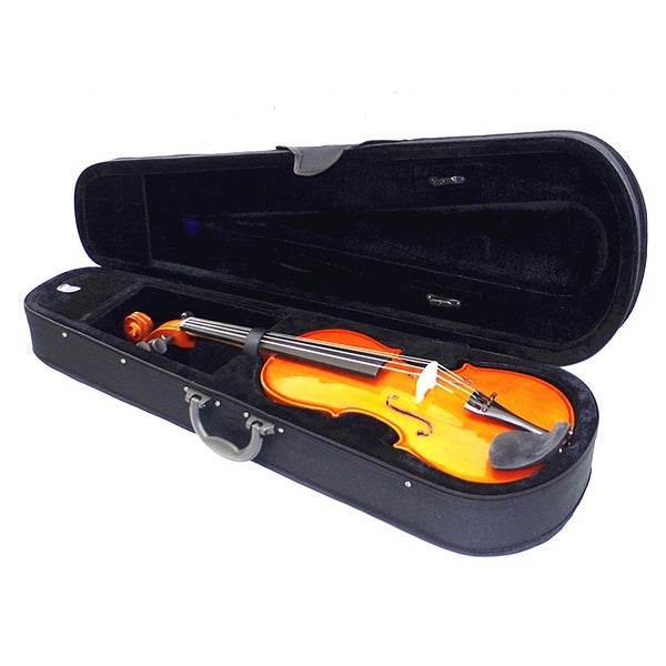 Orchestra Approved Student Violin W/ Case and Shoulder Rest (7 Sizes)