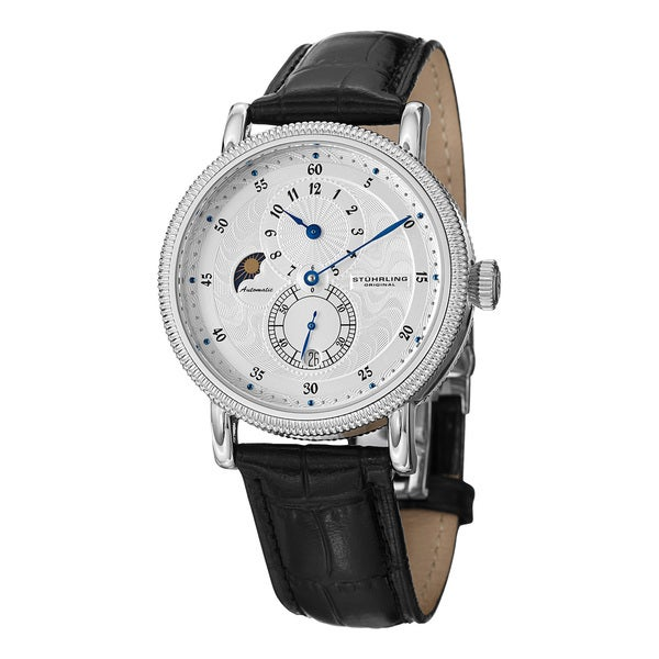 Stuhrling 'Operetta' Men's Regulator Dial Watch