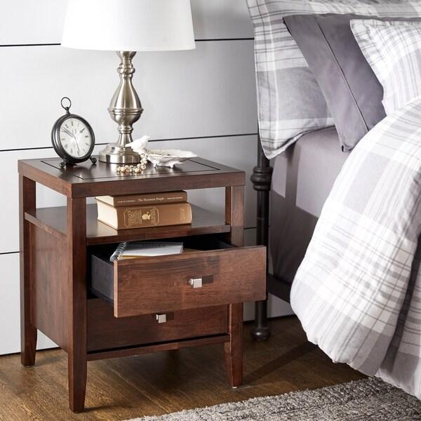 Strick & Bolton Aristo 2-drawer Nightstand