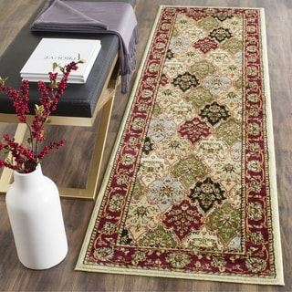 "Safavieh Lyndhurst Traditional Oriental Multicolor/ Red Runner (2'3"" x 14')"