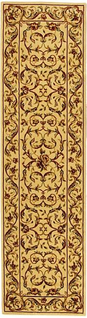 Safavieh Lyndhurst Traditional Oriental Ivory/ Ivory Runner Rug - 2'3 x 14'