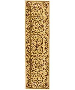 Safavieh Lyndhurst Traditional Oriental Ivory/ Ivory Runner Rug - 2'3 x 14' - Thumbnail 0