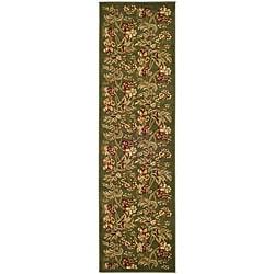 Safavieh Lyndhurst Traditional Floral Sage Runner (2'3 x 14')