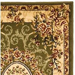 Safavieh Lyndhurst Traditional Oriental Sage/ Ivory Runner (2'3 x 14') - Thumbnail 1