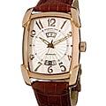 Stuhrling 'Madison Avenue' Men's Tonneau Watch