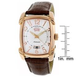 Stuhrling 'Madison Avenue' Men's Tonneau Watch - Thumbnail 1