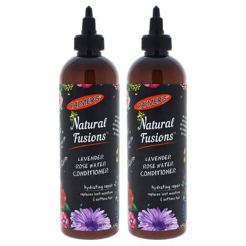 Natural Fusions Lavender Rose Water Conditioner by Palmers for Unisex - 12 oz Conditioner - Pack of