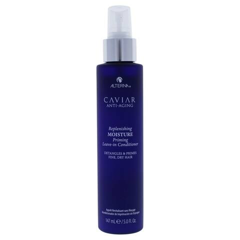 Caviar Anti-Aging Replenishing Moisture Priming Leave-In Conditioner by Alterna for Unisex - 5 oz Conditioner