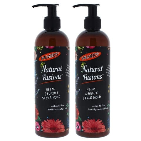 Natural Fusions Neem and Buruti Style Hold by Palmers for Unisex - 12 oz Gel - Pack of 2
