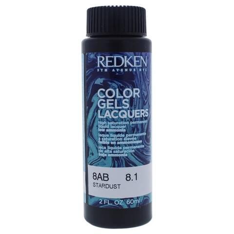 Color Gels Lacquers Haircolor - 8AB Stardust by Redken for Unisex - 2 oz Hair Color