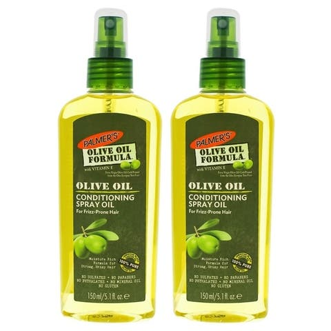 Olive Oil Conditioning Spray Oil by Palmers for Unisex - 5.1 oz Hair Spray - Pack of 2