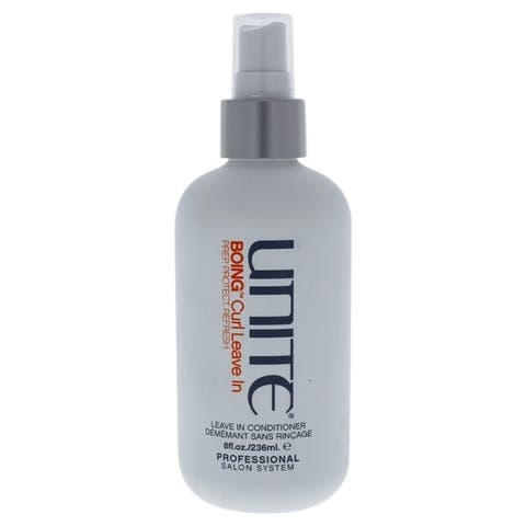 Boing Curl Leave-In Conditioner by Unite for Unisex - 8 oz Detangles