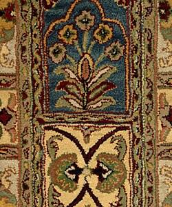 Safavieh Handmade Classic Bakhtieri Multicolored Wool Rug (2'3 x 14') - Thumbnail 1