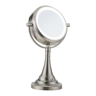Shop Danielle 1x 10x Chrome Revolving Lighted Mirror