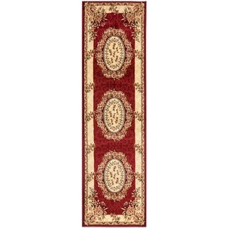 Safavieh Lyndhurst Traditional Oriental Red/ Ivory Runner (2'3 x 14')