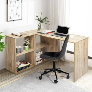 Carbon Loft Chattanooga Home Office L-Shape Computer Desk Writing Table