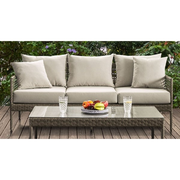 Shop Havenside Home Ukiah Beige Sofa