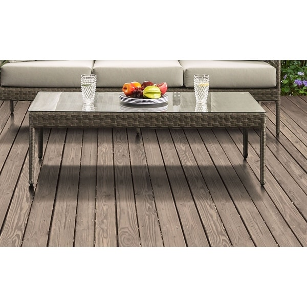 Shop Havenside Home Ukiah Grey Coffee Table