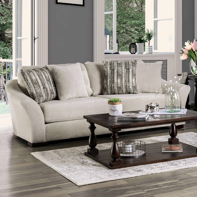 Copper Grove Izium Contemporary Off-white Sofa