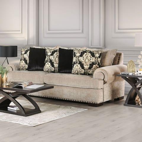 Gracewood Hollow Dolarrai Traditional Beige Sofa