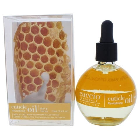 Cuticle Revitalizing Oil - Milk and Honey Manicure by Cuccio for Unisex - 2.5 oz Oil