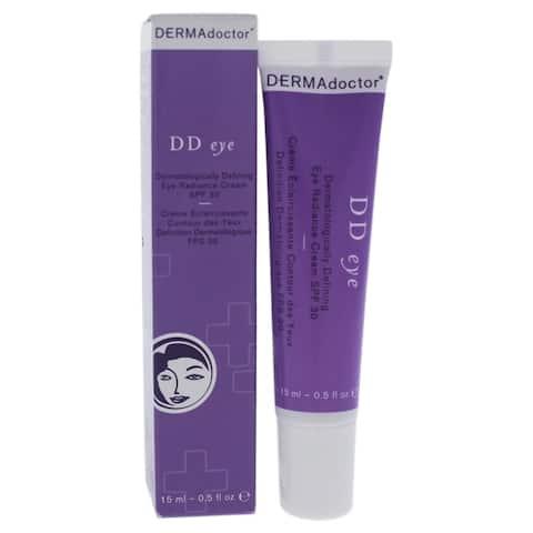 DD Eye Dermatologically Defining Radiance Cream SPF 30 by DERMAdoctor for Women - 0.5 oz Cream