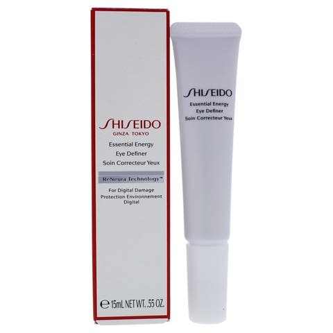Essential Energy Eye Definer by Shiseido for Women - 0.55 oz Eye Cream