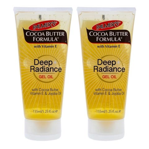 Cocoa Butter Deep Radiance Gel Oil by Palmers for Unisex - 5.25 oz Gel - Pack of 2