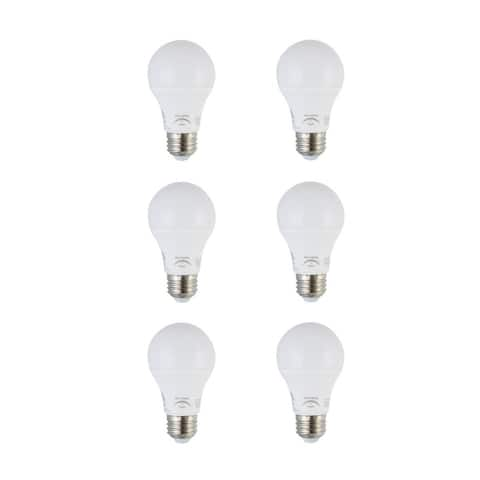 LED A19 light bulb 10 watts 800 lumens 5000K dimmable - White - N/A