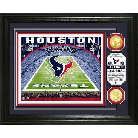 """Houston Texans """"Stadium"""" Bronze Coin Photo Mint"""