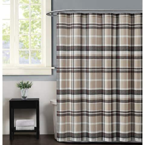 Porch & Den Brigadoon Plaid Shower Curtain