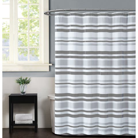Truly Soft Curtis Stripe Shower Curtain