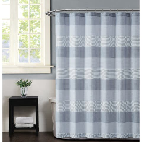 Truly Soft Multi Stripe Shower Curtain