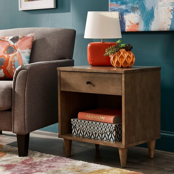 Strick & Bolton Vilas 1-drawer Nightstand. Opens flyout.