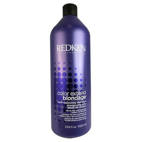 Redken Color Extend Blondage 33.8-ounce Color Depositing Purple Shampoo