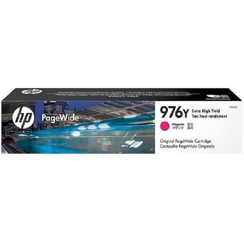 HP 976Y Extra High-Yield Magenta PageWide Ink Cartridge, L0R06A