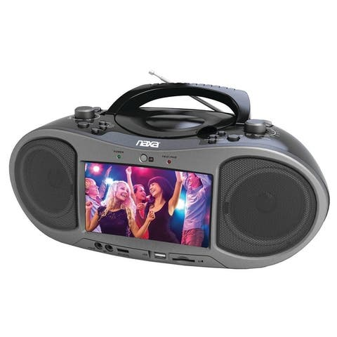 "7"" Bluetooth® DVD Boombox"