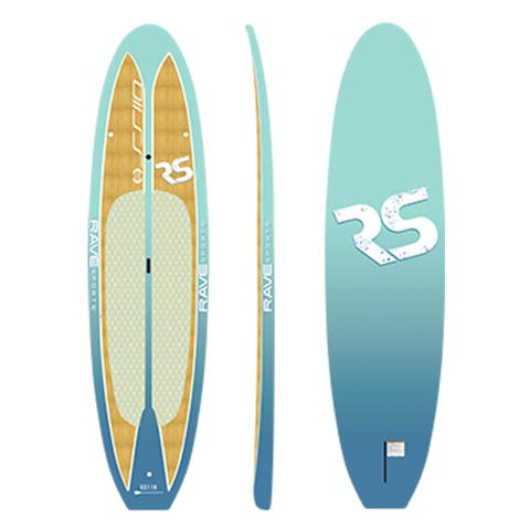 Shoreline Paddle Board (Caribbean Blue)