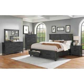 Best Quality Furniture Napolina 4-Piece Bedroom Set with Extra Chest