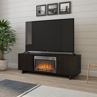 Avenue Greene Kirkdale TV Stand with Fireplace for TVs up to 60 inches