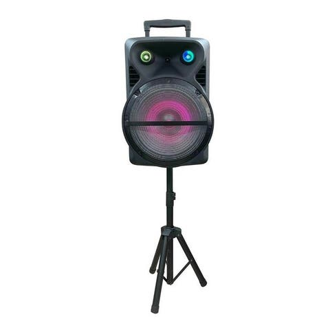 15-Inch Portable Party Speaker Combo Kit