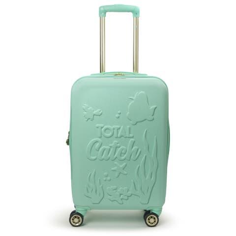 "FUL Disney Princess Ariel Little Mermaid 21"" Carry On Luggage"