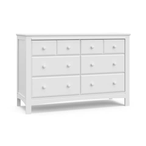 Graco Benton 6 Drawer Dresser - Easy New Assembly Process, Universal Design, Euro-Glide Drawers with Safety Stops