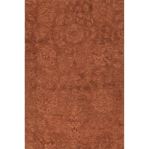 Copper Grove Llumeneres Hand-tufted Vintage Area Rug