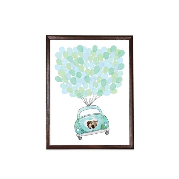 "Knotwood - Wedding Guest Frame 18"" x 24"" - Brown"