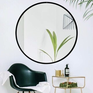 Carson Carrington Salmi 32-inch Large Aluminum Alloy Round Mirror