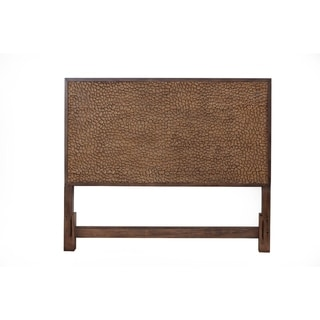 Alpine Furniture Brown Pearl Headboard, Brown Bronze