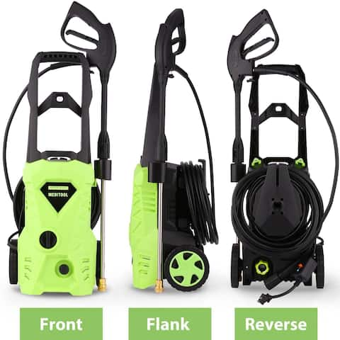 Homdox 2600PSI 1.6GPM Electric High Pressure Washer Machine with Nozzle